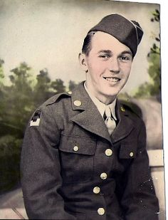 Henry Ford Hurley. He served in the Army during WWII. Ford is my uncle. Photo is from my private collection