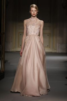 Design #31 by Georges Hobeika | Couture Spring-Summer 2013 Collection. Perfect for a non-traditional wedding.