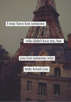Lost Someone - Tap to see more really sad quotes about love that will probably make you cry! - @mobile9