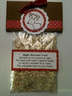 Recycled upcycled repurposed christmas goodie bag ideas for Christmas eve food ideas uk