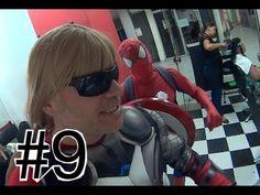#9 Thor cortando cabelo Homem Aranha Spider-Man Marvel  Vingadores Papai...