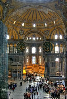 Hagia Sophia in Istanbul_ Turkey