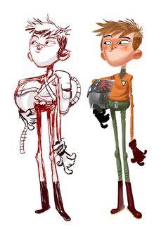 Resplendent Cartoon Drawing Tips Ideas Character Design Cartoon, Drawing Cartoon Characters, Character Design Animation, Character Creation, Character Design References, 3d Character, Character Drawing, Character Design Inspiration, Character Illustration