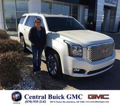 https://flic.kr/p/DgEVwX | Happy Anniversary to Chris & Lasha on your #GMC #Yukon from Justin Duckert at Central Buick GMC! | deliverymaxx.com/DealerReviews.aspx?DealerCode=GHWO