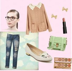 """Soft Pink and Seafoam"" by fiorini-ini on Polyvore"