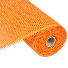 "Woven Paper Mesh Roll Color: Orange Material: Paper Size: 10"" in width; 10 yards length"