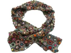 Sophie Digard Little Gem Scarf in Multi