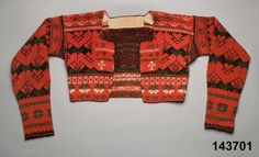 Dated Nordiska Museet… Folk Costume, Costumes, Knitting Needles, Wool Sweaters, Free Pattern, How To Make, How To Wear, Men Sweater, Textiles