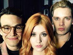 Simon, Clary, and Jace
