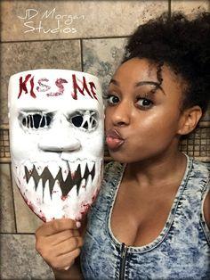 Purge Kiss Me Mask by JDMorganStudios on Etsy