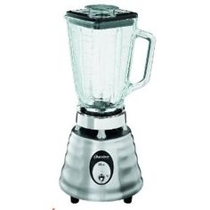 Oster 4093-008 5-Cup Glass Jar 2-Speed Beehive Blender, Brushed Stainless - To go with the Cuisinart :)