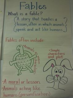 fables, fairytales, etc... Third Grade Thinkers: Tell me a story...