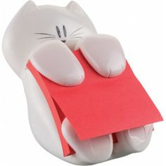 Just bought this ^_^ Post-It - Z-Notes dispenser Cat