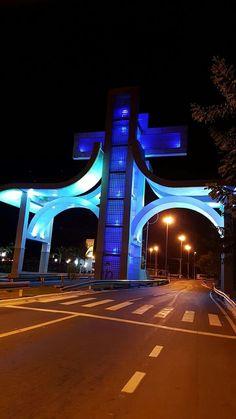 Portal do Divino Pai Eterno na Entrada do Município de Trindade-GO