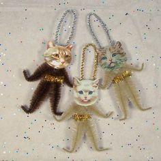 Etsy, cat ornaments