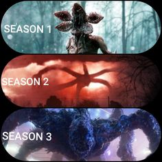 Stranger Things monster's throughout the seasons What monster is going to be in season (With the after credit video, I think it might be like, an army of demogorgons or something) Stranger Things Monster, Watch Stranger Things, Stranger Things Aesthetic, Stranger Things Season 3, Stranger Things Netflix, Best Memes, Funny Memes, Stranger Danger, Teen Wolf