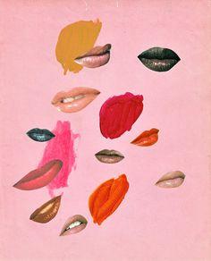 Beth Hoeckel, 'Lips' (2013) The Female Gaze - The New York Times