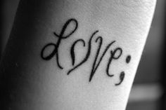 """TATTOOS.ORG - """"To write love on her arms"""" + semicolon project + national eating disorder association"""