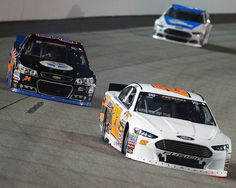 William Byron led the field to green but Austin Hill had a different plan in mind after he took over the lead mid-way through the race in the No. 22 A&D Welding / Don Rich Ford