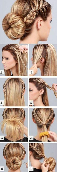 10 cute hairstyle ideas for medium length hair school hairstyles hairstyles long hair do it yourself men with women hair cut short hair solutioingenieria Gallery