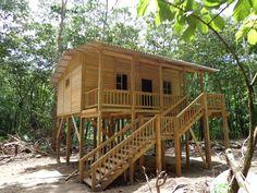 tiny houses on stilts - Google Search  Guatemala!