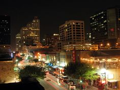 View from Maggie Mae's rooftop in Austin, TX