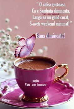 Good Morning Coffee, Flowers Online, Coffee Cafe, Samba, Decoupage, Tea Cups, Tableware, Day, Motto