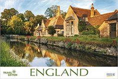 England 2018: Großer Foto-Wandkalender mit Bildern aus Britannien. Travel Edition mit Jahres-Wandplaner. PhotoArt Panorama Querformat: 58x39 cm.: Amazon.de: Korsch Verlag: Bücher