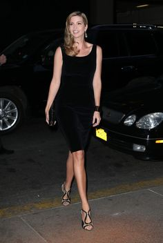 Ivanka Trump Little Black Dress - Ivanka Trump sported a basic little black dress for her night out in New York.