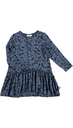 PompDeLux Jimma Little Dress (blue) AW16
