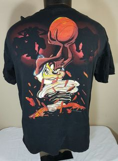 7bf49c06b9509c Vtg Space Jam T Shirt 90 s Men XL Michael Jordan Nike Warner Bros. XI 11