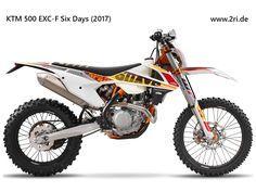 KTM 500 EXC-F Six Days (2017)