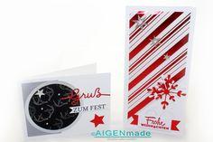 Weihnachtskarten Aigenmade StampinUp