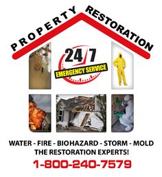 Water damage can cause many problems to the infrastructures of your Property hence the reason for structural drying, the first thing we focus on is the Water Removal from the home before it can cause any further / permanent damage. Building materials used inside the home are porous; drywall and wood retain moisture easily; and that moisture over time will cause the wood to bend and buckle, allowing the flooring to break down and rot and Mold Damage to set in.