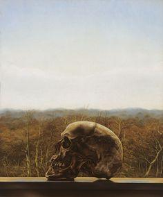 Edgar Fernhout (1912–74), Schedel (Skull),1935 http://50watts.com/In-the-shadow-of-tomorrow