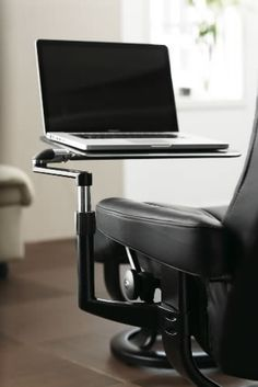 The Stressless Computer Table gives you a good, comfortable working position. $595.00 http://thebackstore.com/shop-by-brand/stressless/tables-and-accessories/computer-table.html