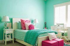 Dormitorio menta