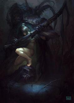 Demon Hunter by su-ke