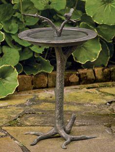 6353: Tree Birdbath and Sundial (Product Detail)