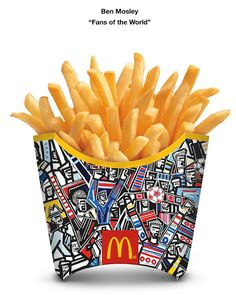 McDonald's World Cup French Fry Packaging Redesign on Packaging of the World - Creative Package Design Gallery