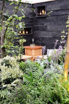 Lovely garden at the Ideal Home Show 2015, London