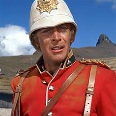Micheal Caine as Bromhead in Zulu