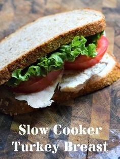 Ditch the grocery store deli and make your own deli meat in your slow cooker with this easy turkey breast recipe.