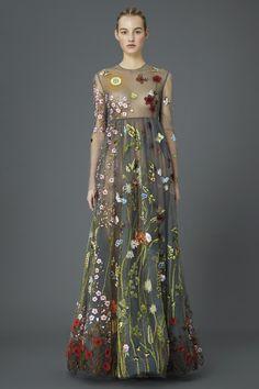Valentino Pre Fall 2015 - British textile designer Celia Birtwell