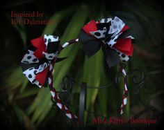 101 Dalmatians Inspired Woven Headband by MissKittysBootique, $10.00
