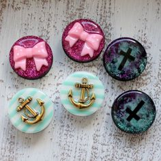 Cute gauges! Especially the anchor ones.