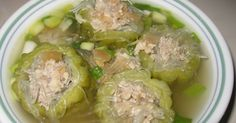 Bitter Melon soup with Pork (Sgno Mareash) Many Khmer grandparents like Sgno Mareash because it tastes bitter and this soup is not for y...