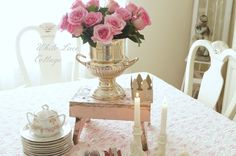 Valentine Home Tour - White Lace Cottage