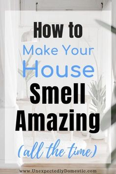 How to keep your house smelling good all the time naturally! These amazing fresh smelling home tips & hacks will work even with pets. Get rid of bad smells!Awesome Cleaning tips hacks are offered on our internet site. Take a look and you wont be sorr Deep Cleaning Tips, Household Cleaning Tips, House Cleaning Tips, Natural Cleaning Products, Clean House Tips, Deep Clean House, Cleaning With Vinegar, Spring Cleaning Tips, Household Cleaners