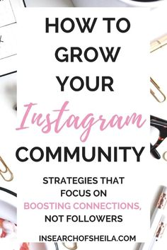 Are you completely fed up with Instagram? Feeling frustrated about low engagement and always losing followers? It's time to switch up your growth strategy. Click here to learn 7 authentic strategies to grow your Instagram by creating a community. Stop wor